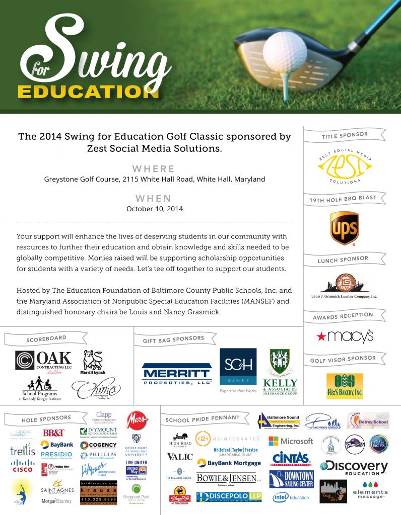 EducationFoundationBCPS_SwingForEduation_Flyer