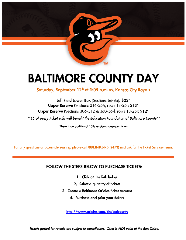 Baltimore County September 12